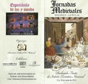 medievales folleto