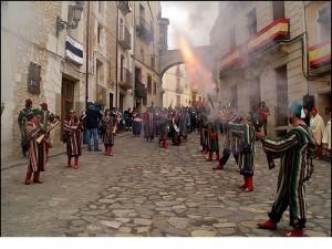 España - Valencia - Bocairent - fiesta de moros y cristianos 1