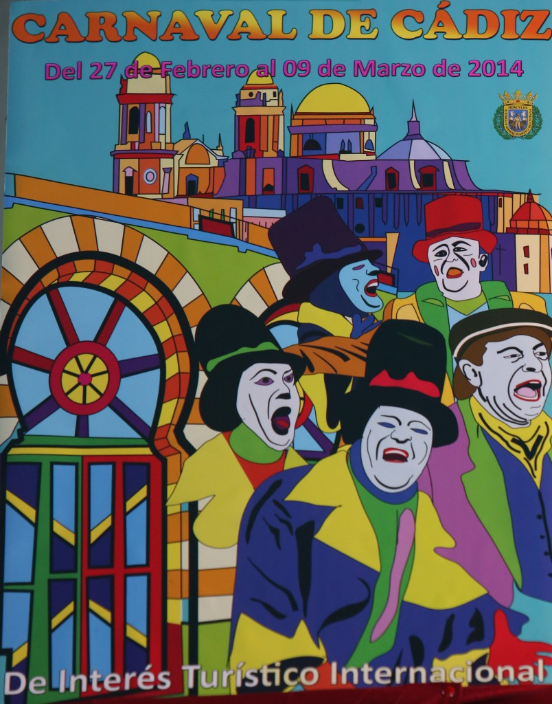 Cartel del Carnaval de Cádiz 2014