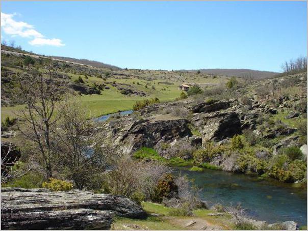 rios - Zarza - Sierra de Ayllon - Guadalajara