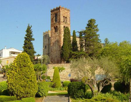 Iglesia románica de Sant Pere de Vilamajor