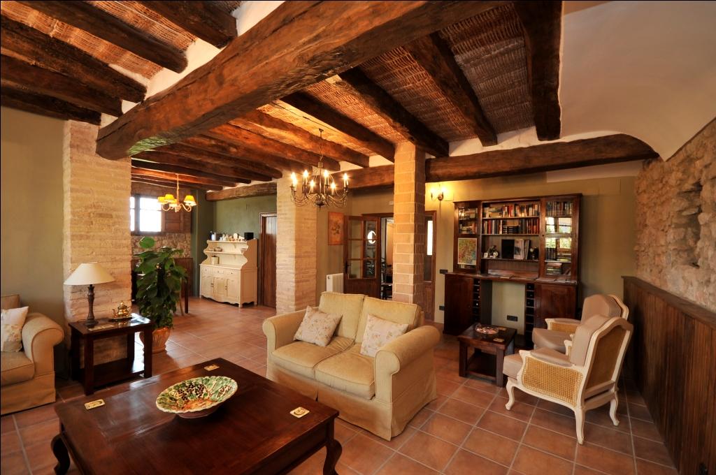 Casa rural els canterers miravet - Fotos de salones rusticos ...